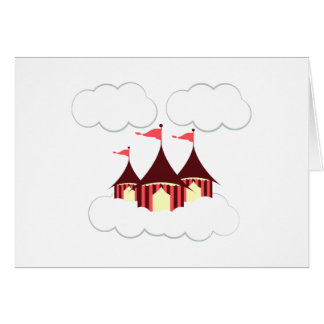 Circus Clouds Greeting Card