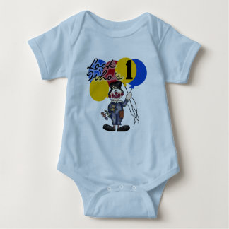 Circus Clown 1st Birthday Tshirts and Gifts