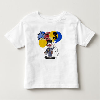 Circus Clown 3rd Birthday Tshirts and Gifts