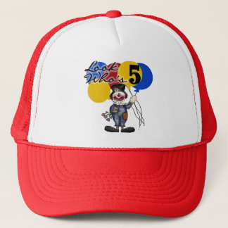 Circus Clown 5th Birthday Tshirts and Gifts Trucker Hat