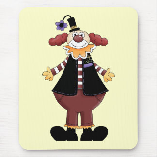 Circus Clown Act Mouse Pad