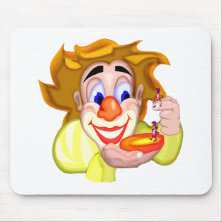 Circus Clown Ants Mouse Pad