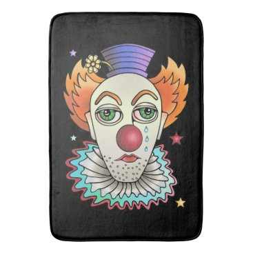Circus Clown Bathroom Mat