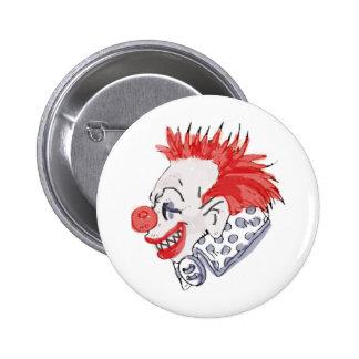 Circus Clown Pinback Buttons