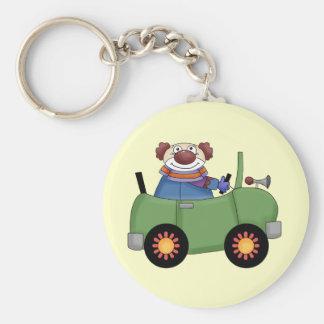 Circus Clown Car Keychain