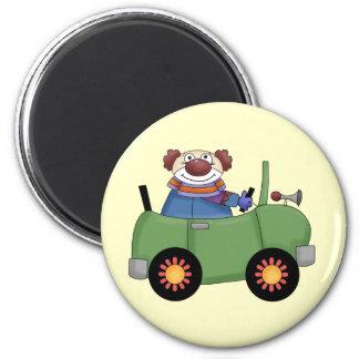 Circus Clown Car Refrigerator Magnets