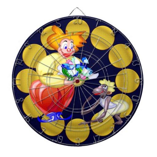Circus Clown Dartboard