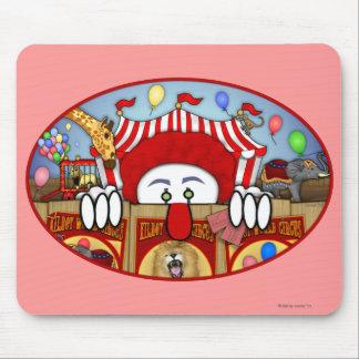 Circus Clown Kilroy Mousepad