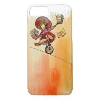 Circus Clown love to read iPhone 7 case