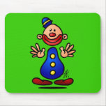 Circus Clown Mouse Pad
