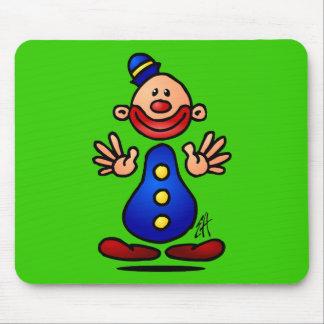 Circus Clown Mouse Pad