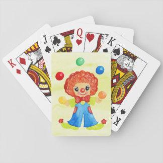 Circus Clown Playing Cards