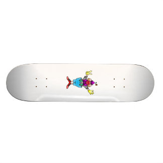 Circus Clown Custom Skate Board