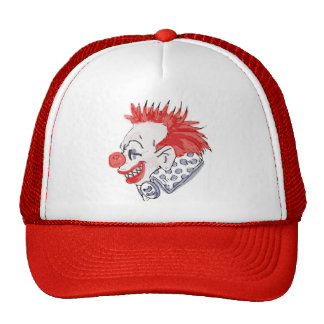 Circus Clown Trucker Hat