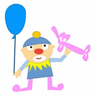 Circus Clown with Ballon Cutout