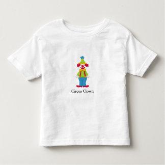 Circus Clown with Customizable Text Toddler T-shirt