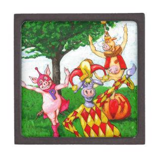 Circus Cows Premium Keepsake Boxes