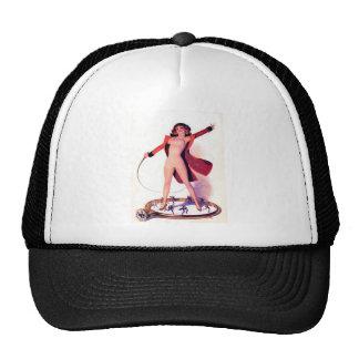 Circus Days Film Fun Vintage Art Trucker Hat