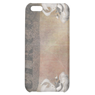 Circus design, text and elephants in corner iPhone 5C cover