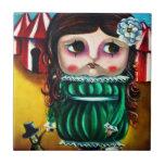 circus doll tile