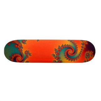 Circus Double Spiral Skateboard
