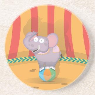 Circus Elephant Drink Coaster