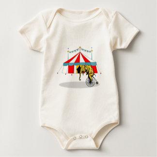 Circus Elephant Gifts Baby Bodysuit