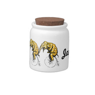 Circus Elephant Gifts Candy Jar