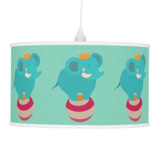 Circus Elephant Hanging Pendant Lamps