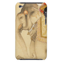 Circus Elephant iPhone Case in Vintage Barely There iPod Covers