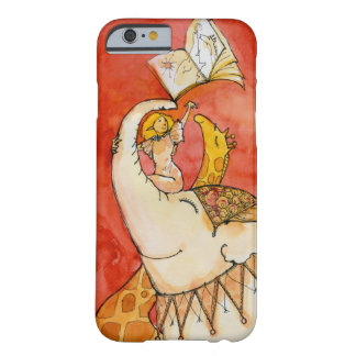 Circus Elephant loves to read iPhone 6 case