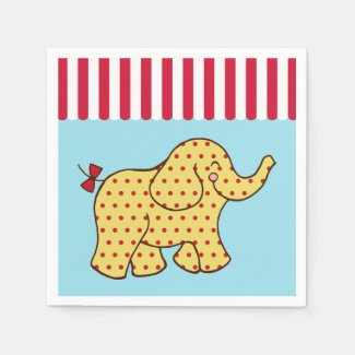 Circus Elephant Napkins