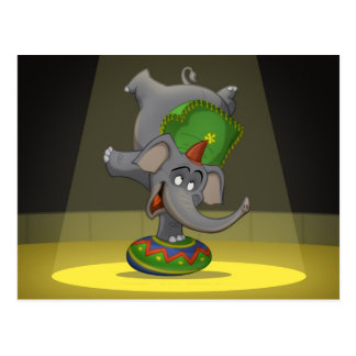 Circus Elephant Postcards