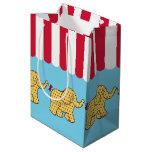 Circus Elephants Gift Bag Medium Gift Bag