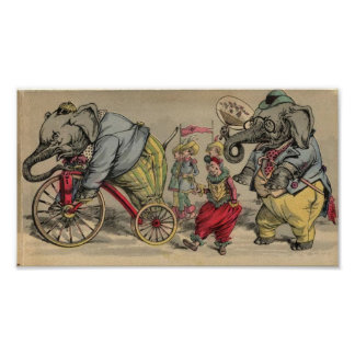 Circus Elephants Posters