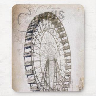 Circus Ferris Wheel Mouse Pad