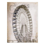 Circus Ferris Wheel Postcard