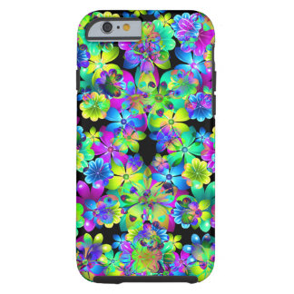 Circus Flowers iPhone6 case by Valxart Tough iPhone 6 Case
