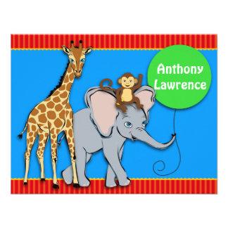 Circus FUN Animal Note Card