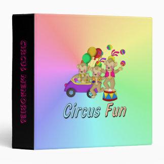 Circus Fun Binders