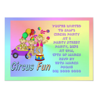 Circus Fun Card