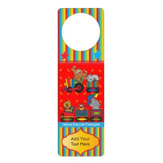 Circus Fun for Everyone Nursery Theme for Baby Door Hanger