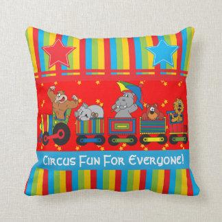 Circus Fun for Everyone Nursery Theme for Baby Pillow
