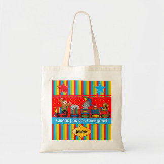 Circus Fun for Everyone Nursery Theme for Baby Tote Bag