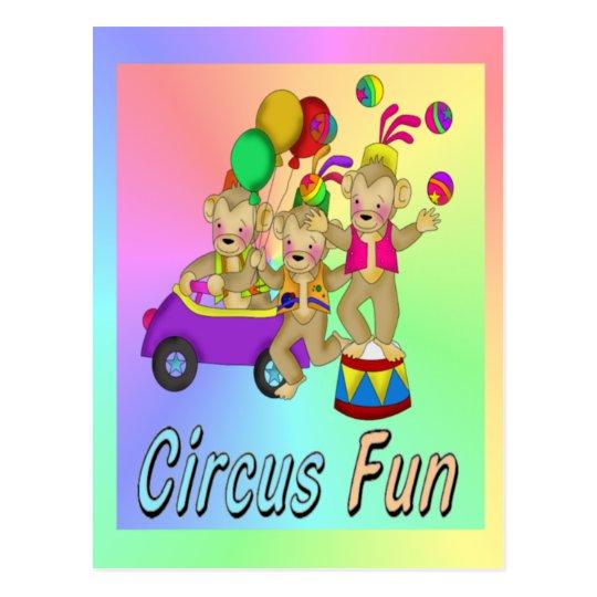 Circus Fun Postcard
