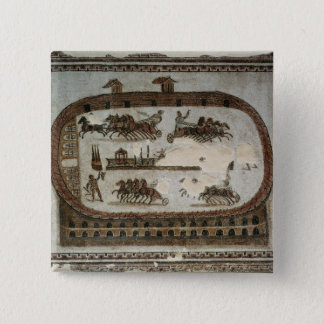 Circus Games, from Carthage, Roman Pinback Button