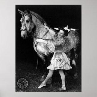Circus Girl: 1908 Poster