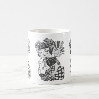Circus Girl Costume Party Coffee Mug
