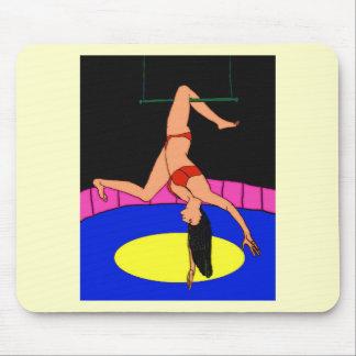 Circus Girl Mouse Pad
