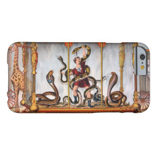 Circus Girl Vintage Poster Barely There iPhone 6 Case
